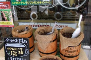 Caravan Coffee also sells coffee beans.