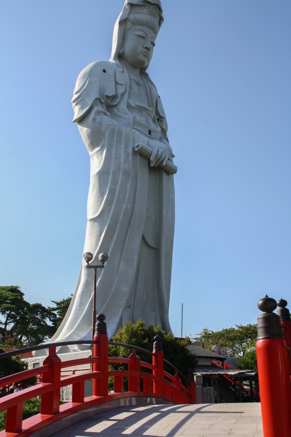 Kannon-sama brings peace and love to the people of Takasaki