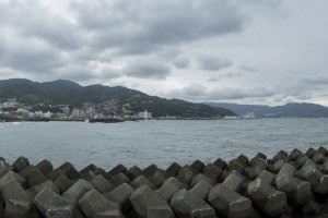 The port of Ito is far from what it would have looked like over 400 years ago
