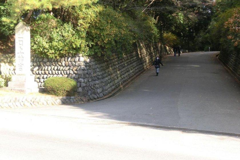 Road entrance to Isonokami shrine