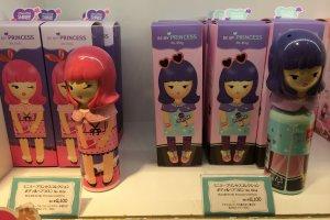 Ces flacons me rappellent la ligne de parfums Harajuku de Gwen Stefani
