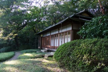 Traditional archetecture in a quiet, natural spot