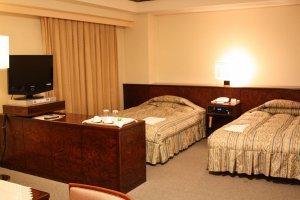 The twin suite room