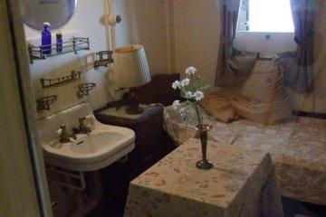 Luxury cabin.