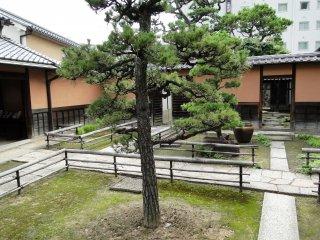 屋敷の中庭