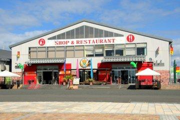 Just outside La La Mew, another souvenir shop and restaurant.