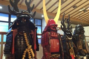 The samurai armor of the famed Mikawa Bushi