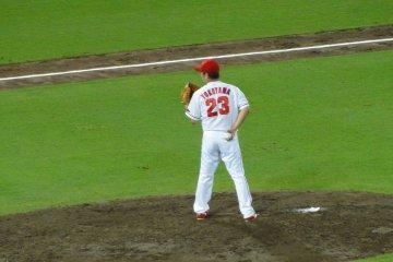 <p>Pitcher&#39;s Mound</p>