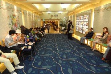 Entrance to 8F of Takashimaya Department Store: Rose Dining area