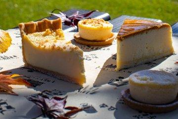 Tokachi Toteppo Factory cheesecake