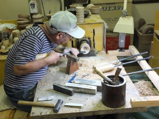 See craftsmen at work at the Center