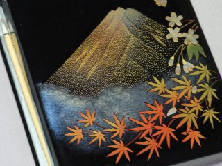An example of Mr. Tomita's exquisite work
