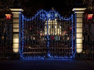 Palace Huis Ten Bosch gate