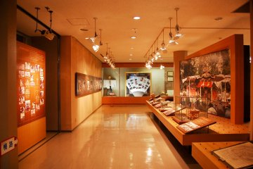 Second floor shows the collection of former festival