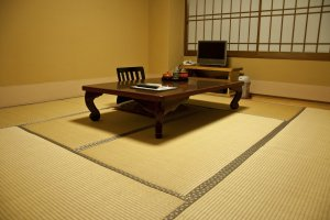 The beautiful traditional Japanese guestroom: simplicity and comfort