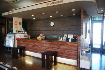 Front desk Hotel Route Inn Isesaki