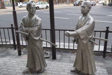 Những bức tượng của Kagoshima