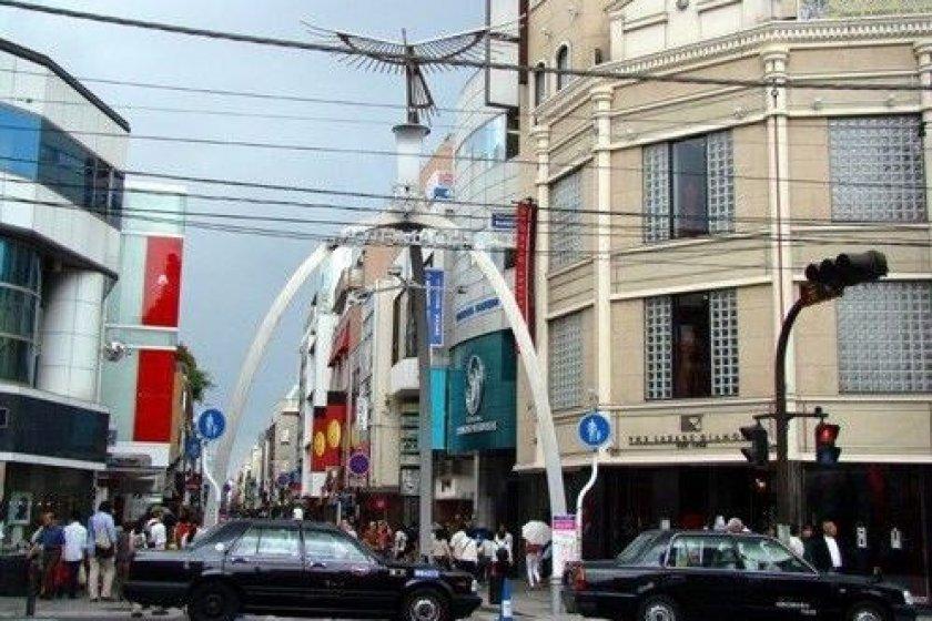 元町商业街入口