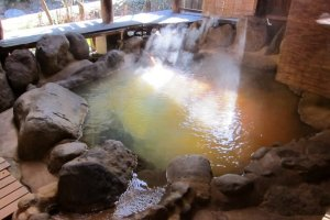 Bể tắm trị liệu tại Kurokawa