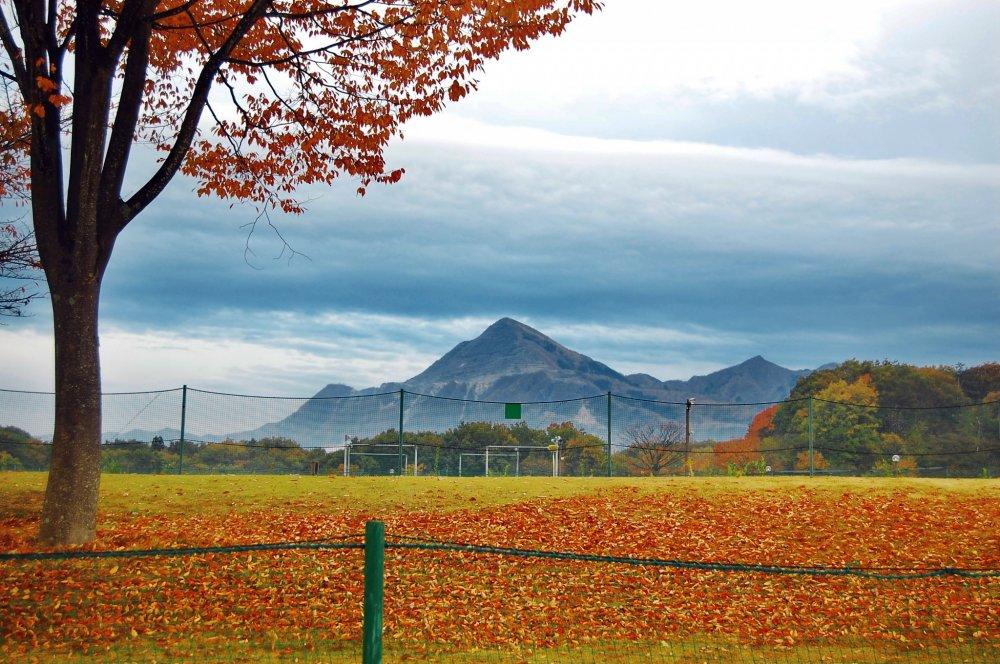 Bukosan et le feuillage d'automne