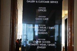 就算沒錢買名牌包也要來份名牌下午茶的GUCCI Cafe