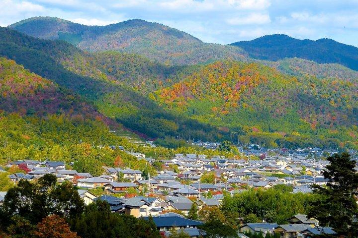 วัดนิซอน-อินในฤดูใบไม้ร่วงที่เกียวโต