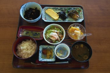 The next morning I decided to have a Japanese-style breakfast instead, which was also delicious.