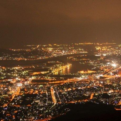 新日本三大夜景之皿仓山