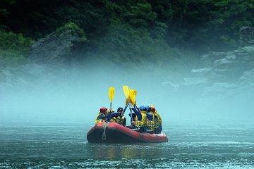 Whitewater Thrills, Shikoku Style