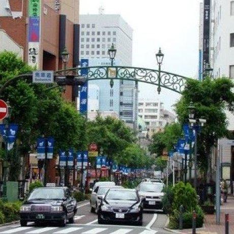 漫步横滨马车道地区