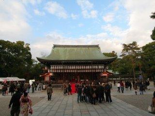 八坂神社來過兩次,每次都有很多遊客,香火鼎盛。