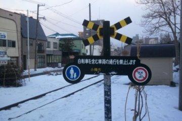 러브레터의 한장면이 떠오르는 기차길사진