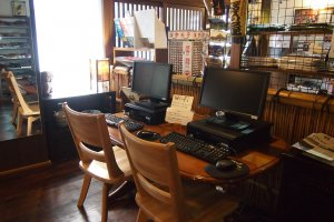 Computers with internet access are available for guest use.