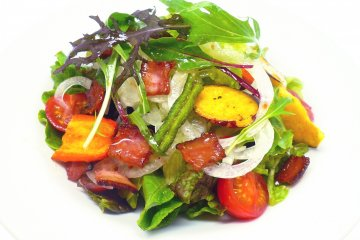 <p>Magatama Cafe and Bar has a simple yet delicious home style menu, with a fusion of Japanese and International cuisine</p>