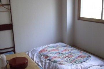 ห้องตอนมีฟูกวาง
