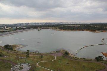 <p>Kurashiki Dam is the largest Dam in Okinawa</p>