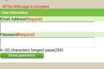 <p>Sign-up and choose a password</p>
