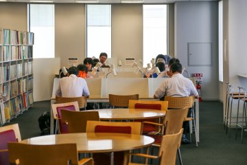 <p>Study area&nbsp;with 240 seats in total</p>