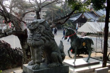 Shrine animals