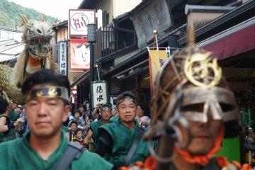 Menari Bersama Seiryu-e di Kyoto