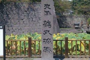 Thành cổ Kagoshima (Tsurumaru). Nơi đây từng là nơi cư ngụ của tộc Shimazu(Satsuma)và trong cuộc nổi dậy Satsuma, một trận chiến khốc liệt đã diễn ra ở đây.