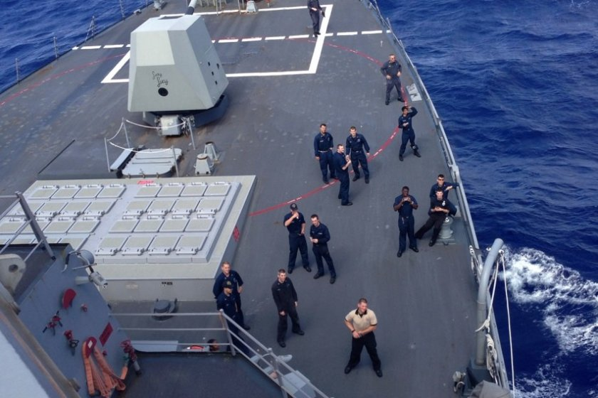 Being in the U.S. Navy means more than just free boat travel; it can mean free air travel, too
