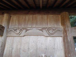 Detail ukiran kayu