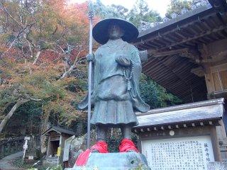 Patung Kobo Daishi