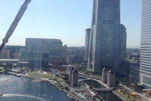 วิวเมืองเมื่อมองมาจากชิงช้า