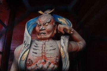 Holy guard of Jonen-ji temple