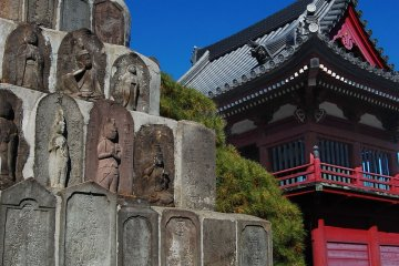 Buddha relics in Jonen-ji