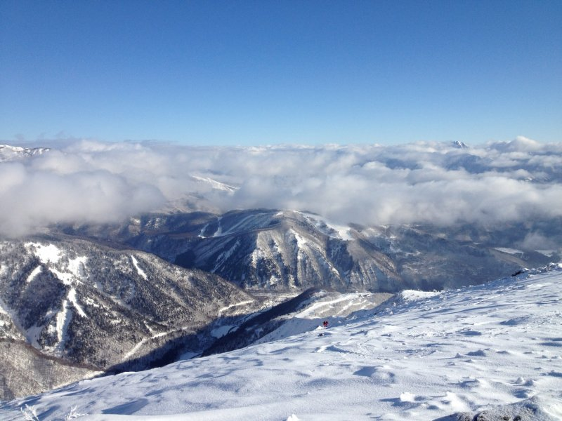 <p>Hakuba Goryu as viewed from the Happo summit offers a gold medal view for skiers and snowboarders.</p>