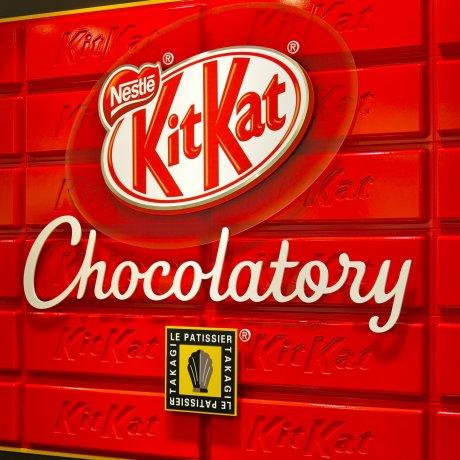 KitKat Chocolatory di Tokyo