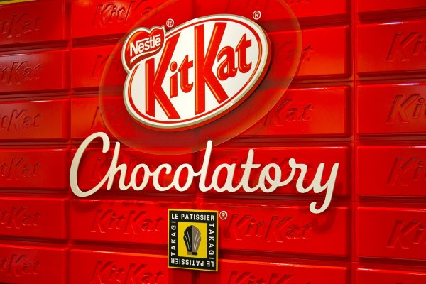 World's first KitKat Chocolatory celebrated its grand opening on January 17, 2014 at Seibu Ikebukuro, Tokyo, Japan!